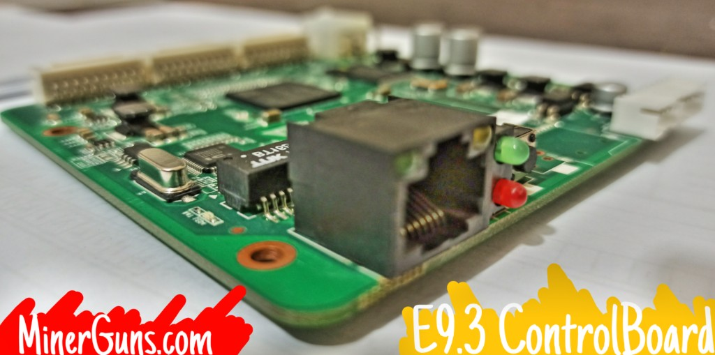 کنترل برد ماینر E9.3