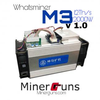 دستگاه ماینر Whatsminer m3 v1